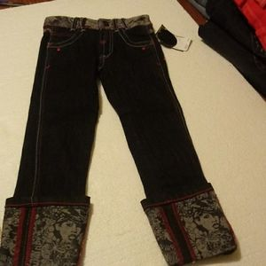 Akademiks Toddlers Turn Up Jean-NWT Size 5